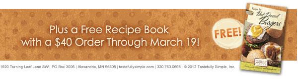 Free Recipe Book!